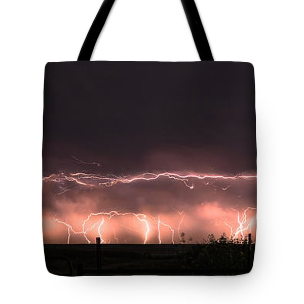 Electric Panoramic IIi Tote Bag