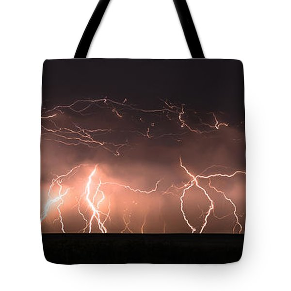 Electric Panoramic Iv Tote Bag