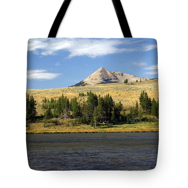 Electric Peak 1 Tote Bag by Marty Koch
