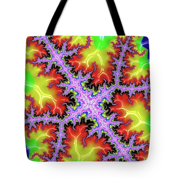 Electric Tote Bag by Rajiv Chopra