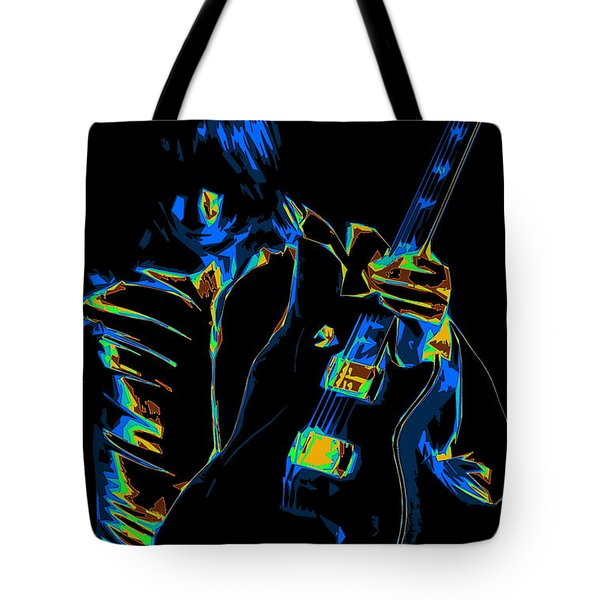 Electric Scholz Tote Bag by Ben Upham III