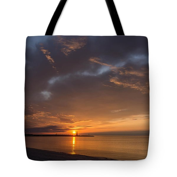 Electric Sky Tote Bag