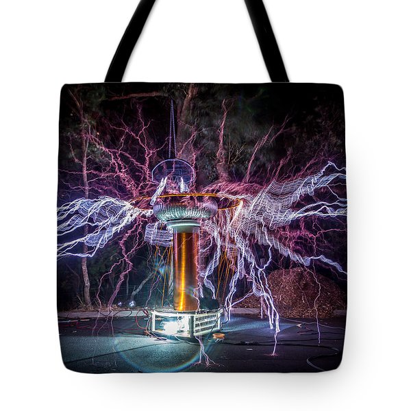 Electric Spider Tote Bag