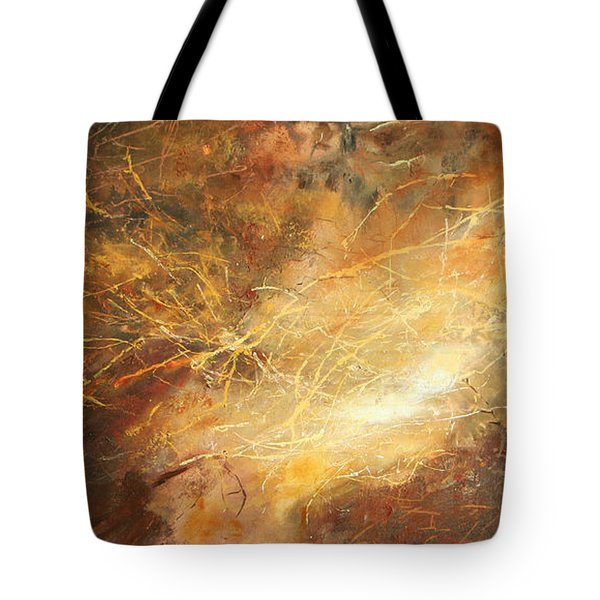 Electric Storm Tote Bag