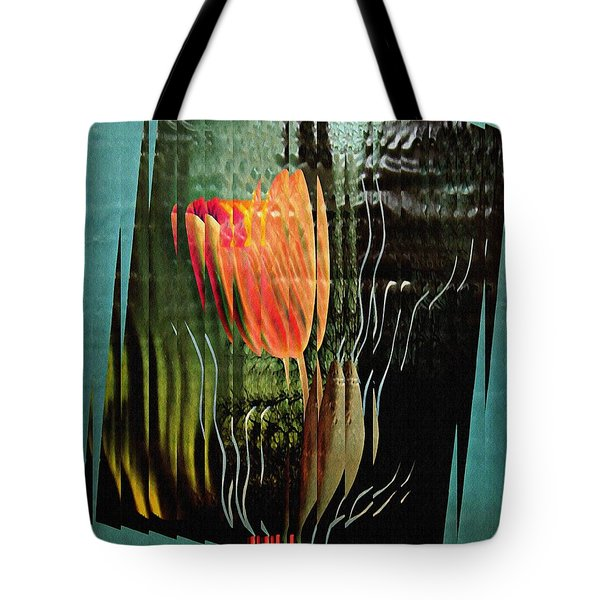 Electric Tulip 2 Tote Bag by Sarah Loft