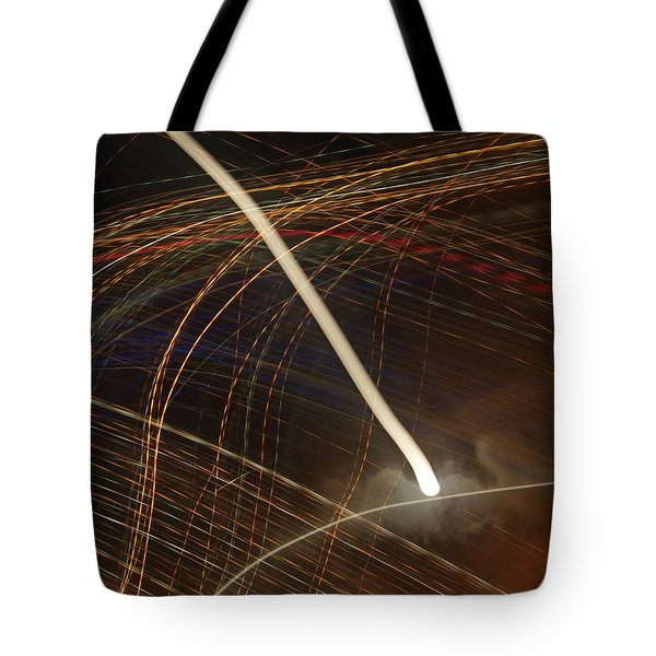 Electric Universe Tote Bag