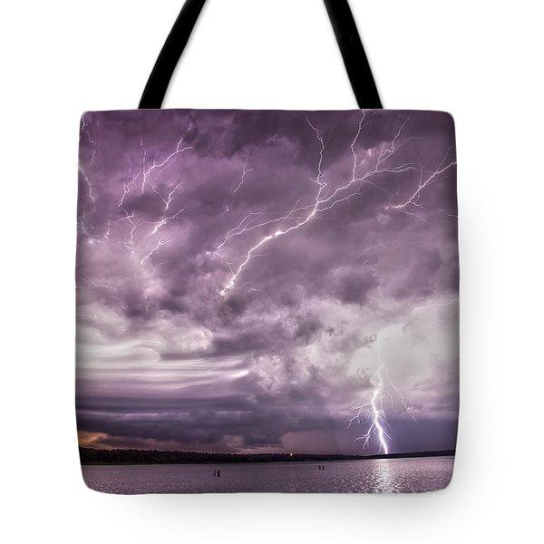 Electrical Mayhem Tote Bag