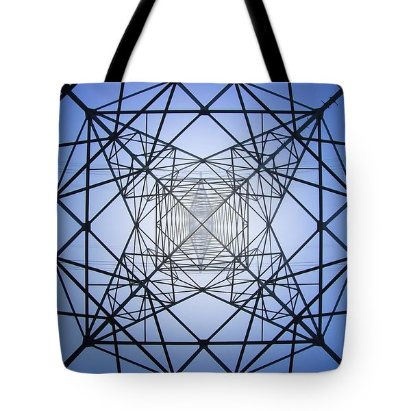 Electrical Symmetry Tote Bag
