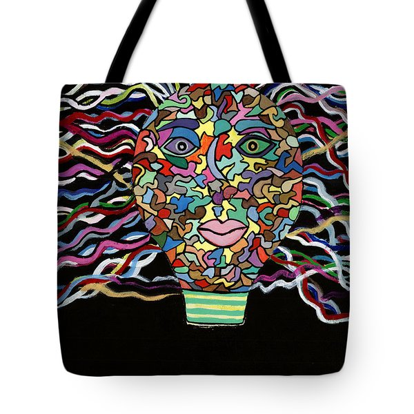 Electrified Tote Bag