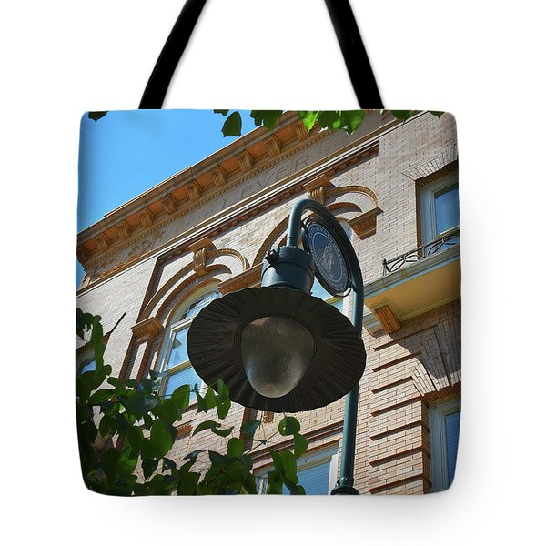 Tote Bag featuring the photograph Electrifying  Architecture by Skip Willits