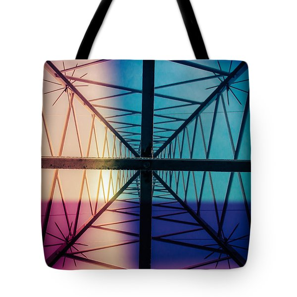 Electromagnetic Fields Tote Bag