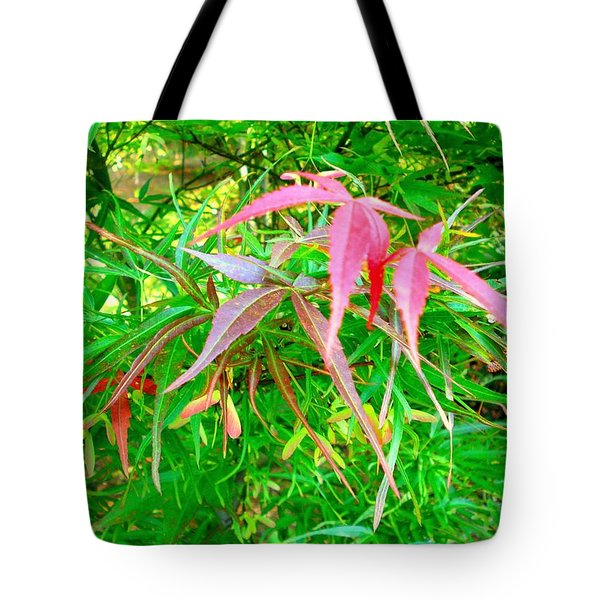 Tote Bag featuring the painting Elegance by Angela Annas