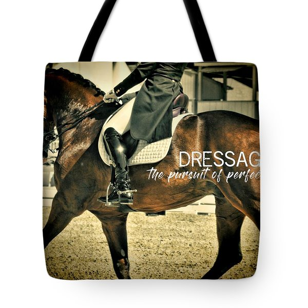 Elegance Quote Tote Bag
