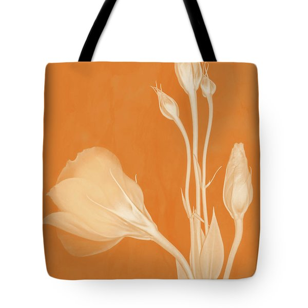 Elegance In Apricot Tote Bag