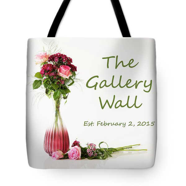 Tote Bag featuring the photograph Elegance-the Gallery Wall Logo by Wendy Wilton