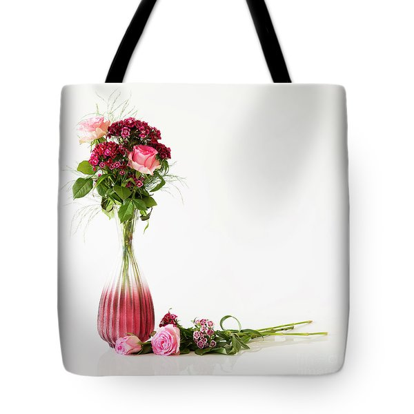 Tote Bag featuring the photograph Elegance by Wendy Wilton
