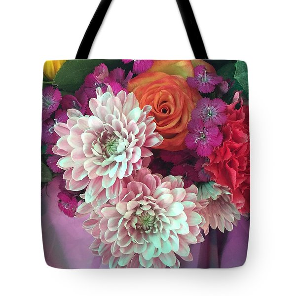 Tote Bag featuring the photograph Elegant And Romantic by Peggy Stokes