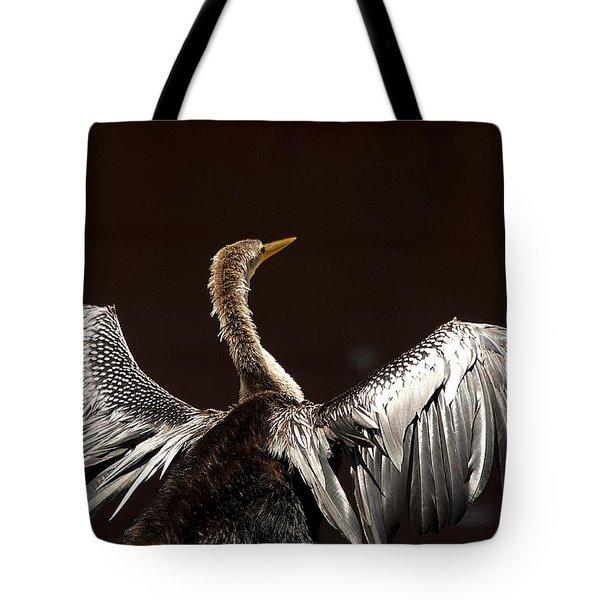 Elegant Anhinga Tote Bag