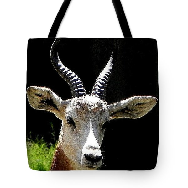 Tote Bag featuring the photograph Elegant Animal by Peggy Stokes