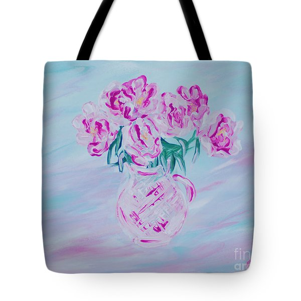 Elegant Bouquet Of Peonies. Joyful Gift. Thank You Collection Tote Bag