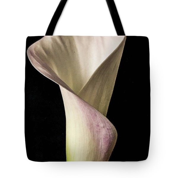 Elegant Calla Tote Bag