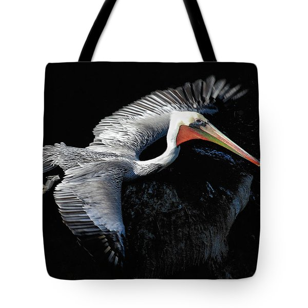 Elegant Flight Tote Bag