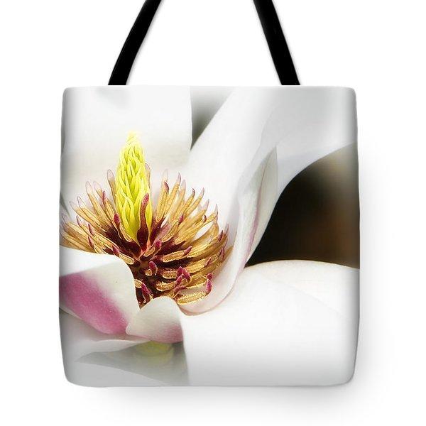 Elegant Magnolia Tote Bag