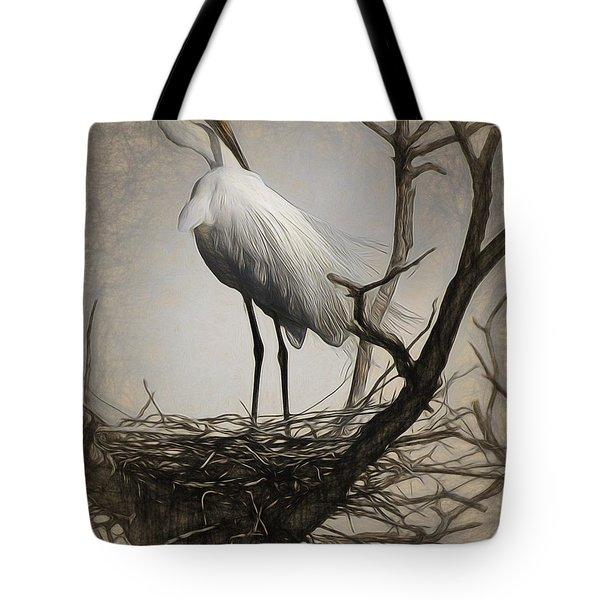 Elegant Mother Tote Bag