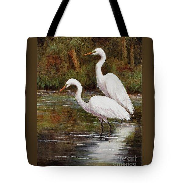Elegant Reflections Tote Bag