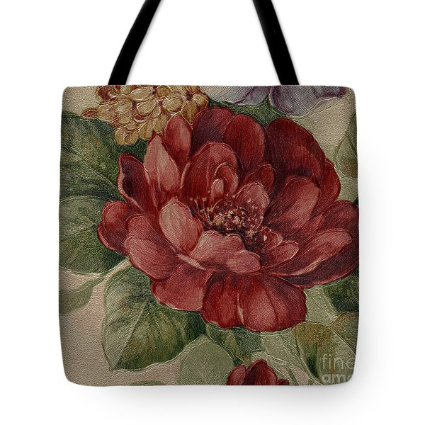Elegant Rose Tote Bag