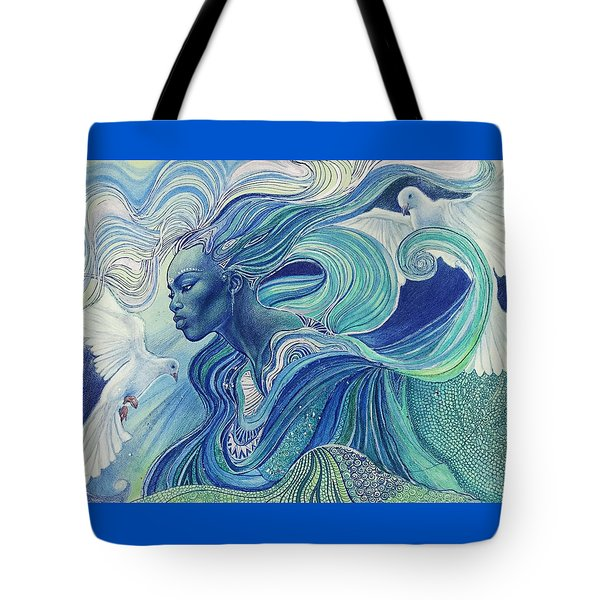 Element Of The Air Tote Bag