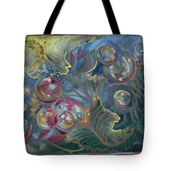 Elemental Bubbles Tote Bag