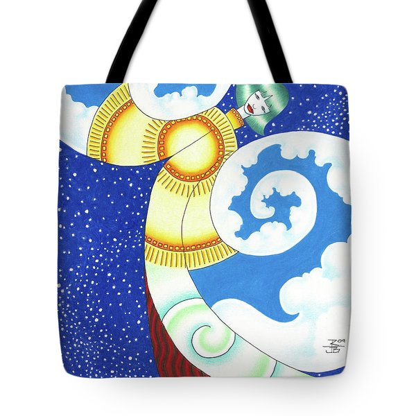 Elements In Harmony Tote Bag by Robert Ball