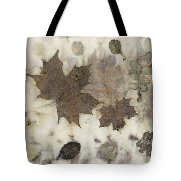 Elements Of Autumn Tote Bag by Carolyn Doe