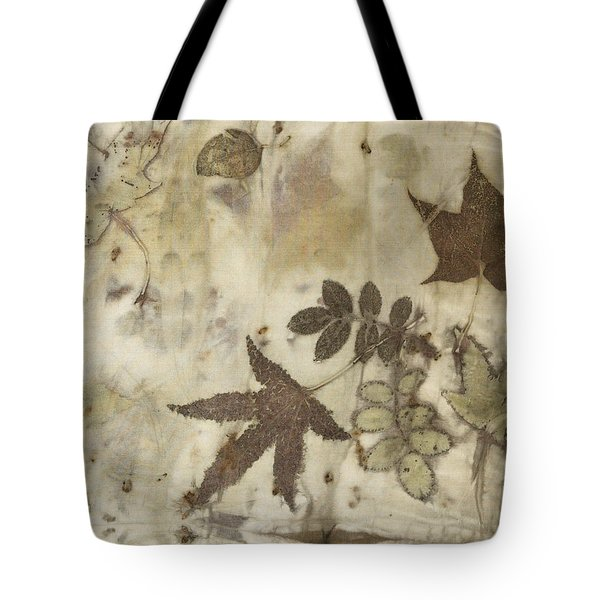 elements of autumn II Tote Bag by Carolyn Doe