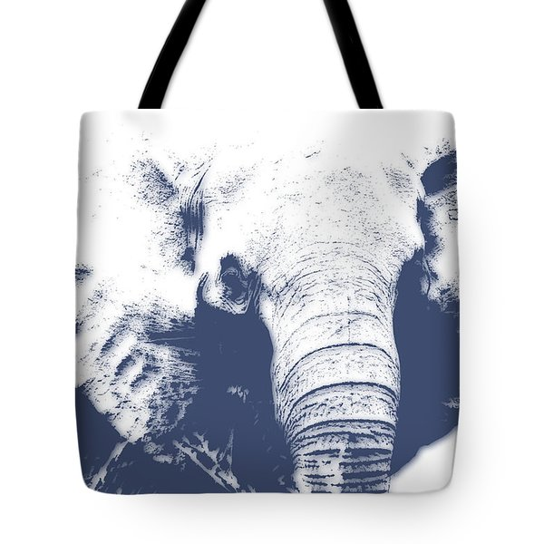 Elephant 4 Tote Bag by Joe Hamilton