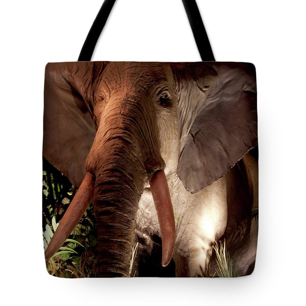 Elephant At Rainforest Cafe Tote Bag