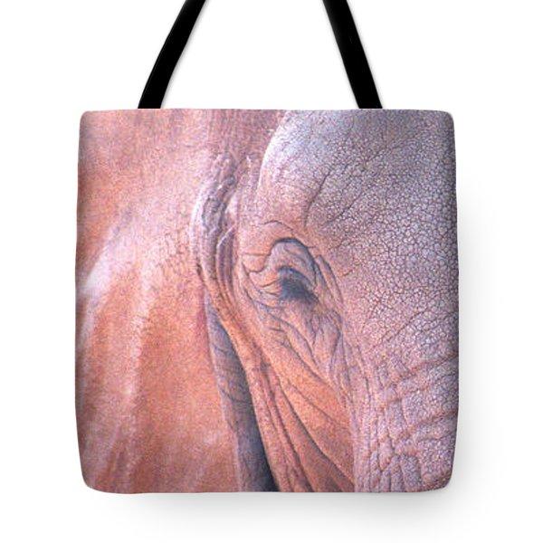 Elephant Ears Tote Bag by Greg Slocum