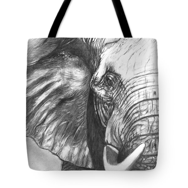 Elephant For Alabama  Tote Bag