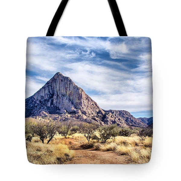 Tote Bag featuring the photograph Elephant Head by Barbara Manis