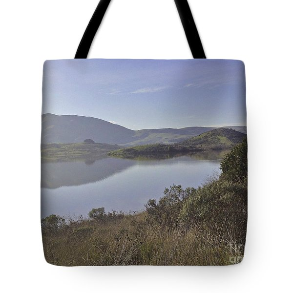Elephant Hill In Mist Tote Bag