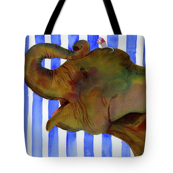 Elephant Joy Tote Bag