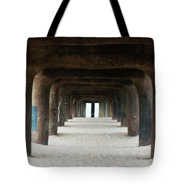 Elephant Legs Tote Bag by Lorraine Devon Wilke