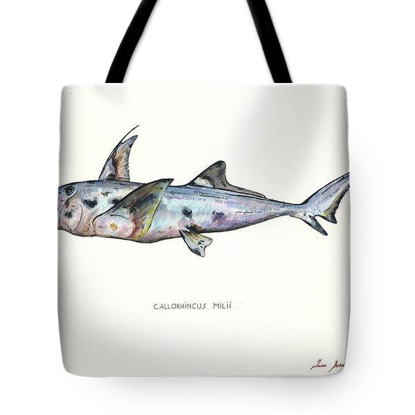 Elephant Shark Tote Bag