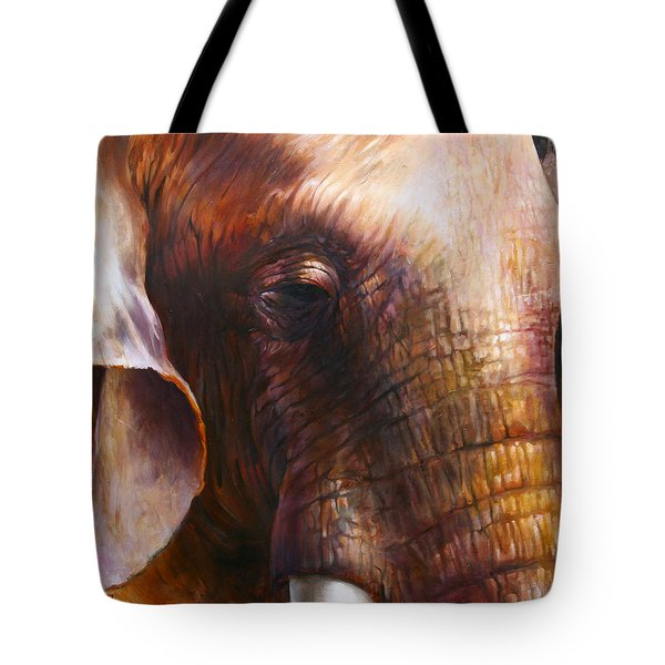 Elephant Empathy Tote Bag