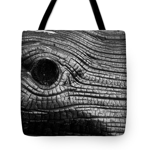 Elephant's Eye Tote Bag
