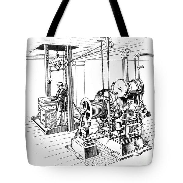 Elevator, 1862 Tote Bag by Granger