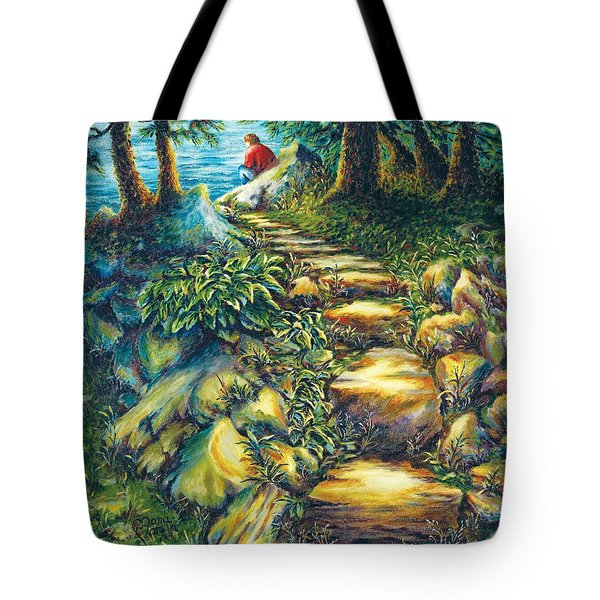 Elevator To Therapy Tote Bag
