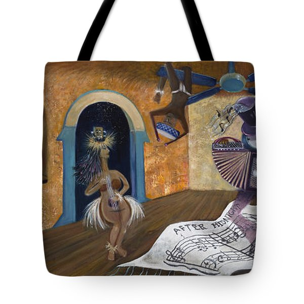 Eleven Minutes After Midnight Tote Bag