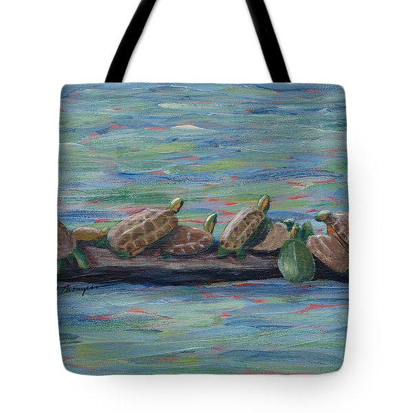 Eleven Turtles Tote Bag